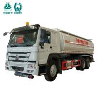 Large Capacity Oil Tanker Trailer / High Power Heavy Duty Truck Fuel Tanks Manufactures