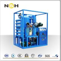 Blue Insulating Oil Portable Transformer Oil Purifier With 1 Year Warranty