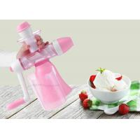 Buy cheap Handmade Flavored Fruit Ice Cream Maker Hand Crank Non Electric juice machine from wholesalers