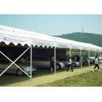 Unique Canton Fair Exhibition Tent / Pvc Coated Polyester Fabric Sports Tent Shelter Manufactures