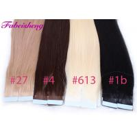 Buy cheap Colored Russian Virgin Seamless Tape In Hair Extensions No Shedding 100% Unprocessed from wholesalers
