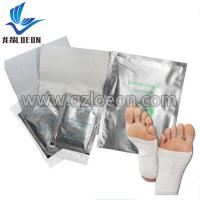 Soothing fatigue keep health bamboo vinegar detox foot patch Manufactures