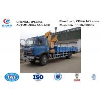 Quality DONGFENG 4x2 LHD/RDH 190HP diesel Folding Crane Truck 8tons-10tons for sale, for sale