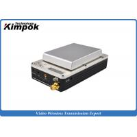 Buy cheap 20km UAV Mini HD COFDM Video Transmitter and Receiver , Wireless Video Link from wholesalers