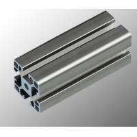 Aluminum Assembly Line Modular Aluminium Profile System With Black / Silvery Anodized Manufactures