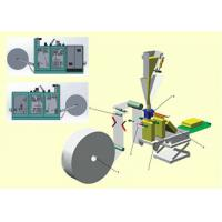 Automated FFS Packaging Machine For Wheat Powder / Flour / Starch Bagging Manufactures