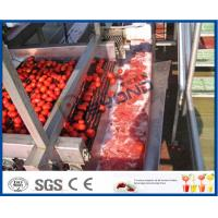 Full / Semi Automatic Tomato Processing Equipment For Tomato Processing Plant Manufactures