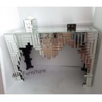 M Style Mosaic Mirrored Console Table 110 * 43 * 76cm / Custom Size Manufactures