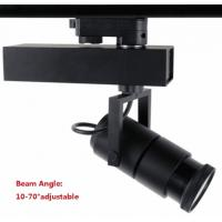 warm white light 20W cree led track lamps adjustable angle 4wire euro standard adapter Manufactures