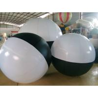 Black And White Inflatable Ball Inflatable Advertising Balloons , Diameter 2 Meter Manufactures