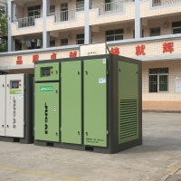 Compact Structure 55KW Industrial Screw Air Compressor JYF75 Manufactures