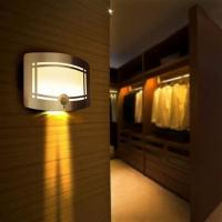 Colorful Wireless Motion Sensor Ceiling Light , Household Battery Led Lights Manufactures