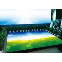Colorful Indoor P4.81 Interactive LED Floor Disco Display , Led Video Floor Manufactures