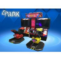 42 Inch Screen Motor Car Racing Two Player Arcade Game Machine Manufactures