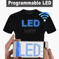 LUV Portable programmable LED lighting equipment USB rechargeable battery with app software control by smart phone Manufactures