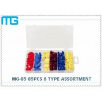 6 Types Terminal Assortment Kit MG - 85 85 Pcs For Machinery / Spinning CE Approval Manufactures