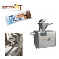 Automatic Energy Bar Machine , Stainless Steel Candy Bar Making Machine Manufactures