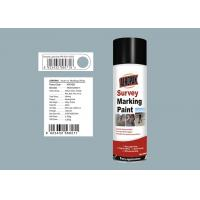 Light Grey Color Marking Spray Paint 0.3 Mpa Pressure Inside For Grass Manufactures