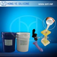 China life casting silicone rubber for male sex organ sexual penis on sale