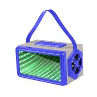 China CH-M37 Portable Rectangular 3D Light Bluetooth Speaker Available colors: black / blue / red on sale