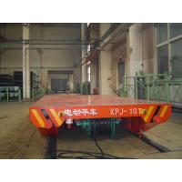 Heavy Load Cable Drum Powered Rail Transfer Trolley for Steel Mill Handling Manufactures