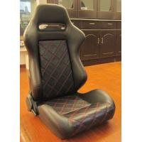 Quality Double Or Single Slider Sport Racing Seats / Automotive Racing Bucket Seats for sale