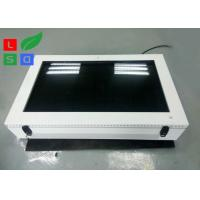 Quality Large Screen LCD Digital Signage Display , Outdoor 2000 Cd/M2 Brightness LCD AD Display for sale