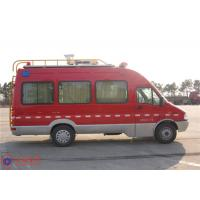Quality Max Speed 115KM/H Emergency Command Vehicles , Approach Angle 20° Fire And Rescue Vehicles for sale