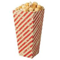 Quality Biodegradable Innovative Fast Food Packaging , Small Pink Cardboard Popcorn for sale