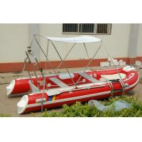 Funsor 3.9m Orca Hypalon HRIB-390 inflatable boat with YAMAHA motor red color Manufactures