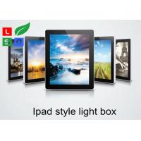 Ipad Style LED Magnetic Light Box Single Sided 2800 LUX Brightness For Wall Graphic Display Manufactures