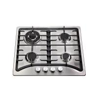 Built In Stainless Steel Top Auto Ignition Gas Stove 4 Burner 580 * 500mm Manufactures