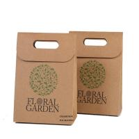 China Luxury Custom Printed Brown Paper Bags Glossy Lamination Fast Delivery on sale