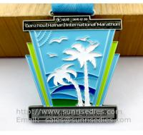 Enameled metal medallion maker China