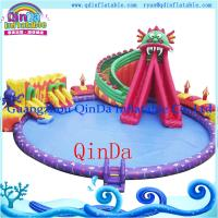 Octopus Inflatable Water Slide with Swimming Pool inflatable slide for pool Manufactures