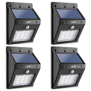 Wireless Waterproof Outdoor  Motion Sensor Wall Lights 16 LED for Garden