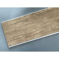 Wood Color Plastic Laminate Wall Covering , Pvc Laminated Ceiling Board Manufactures