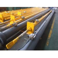 Quality Top denudate Radial Gate Long Hydraulic Cylinder 1200mm DNV Certification for sale