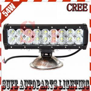 9INCH 54W CREE LED LIGHT BAR FLOOD COMBO OFF ROAD IP67 4WD ATV UTV SUV LED WORK LIGHT BAR Manufactures