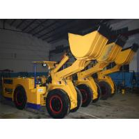 Small Front End Loader , Diesel Engine Hybrid Wheel Loader V Shape Shovel Manufactures