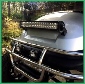 Ultimate 48 Volt Led Driving Lights For Golf Carts Injection Molded Plastic Manufactures