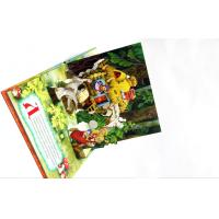 Quality Case Bound Colorful Story Pop Up Children Book Printing With Diecut Book for sale