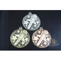 China Die Casting Custom Metal Engraved Music Medals, 3D Design With Gold Silver Copper Plating on sale