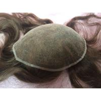 Elegant-wig high quality bleached knots French lace base toupee for women Manufactures