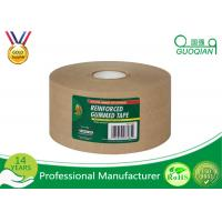 Water Release Gum reinforced kraft tape , printed kraft tape For Carton Packing Manufactures