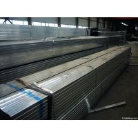 Zinc Galvanized Square Steel Pipe With Zinc Coated 45 to 250 g Manufactures