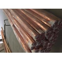 China Seamless / Welded Copper Alloy Tube 0.3 - 9mm Thickness ASTM B280/68 C12200 on sale