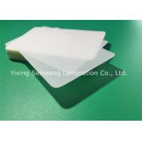 Protective Matte Lamination Film Business Card Size Laminating Pouches 250