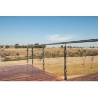 Balcony Railing Glass Price m2, Stainless Steel Square Pipe Railing Design Manufactures