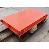 China Industrial Electric Flat Car Simple Structure 1-500t Large Carrying Capacity on sale